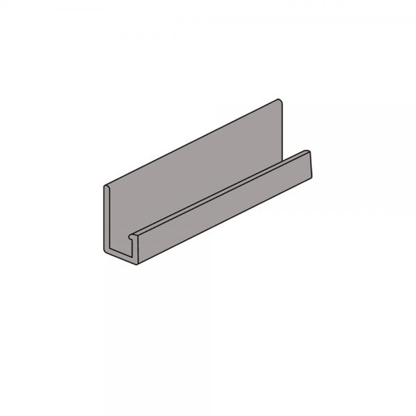 J-профиль Северный камень, 3050 мм - Серый
