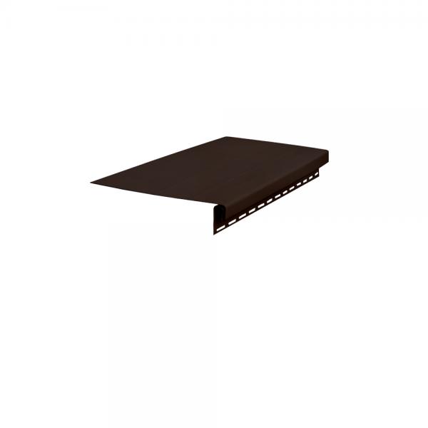 Доска карнизная, 3050 мм Темно-коричневый
