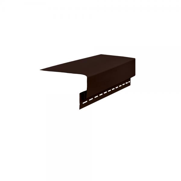 Планка околооконная, 3050 мм Темно-коричневый
