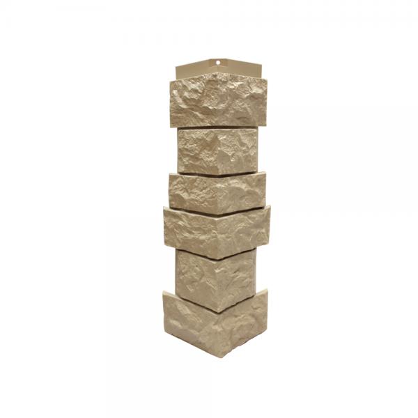 Угол наружный «Северный камень», 143х463 мм - Бежевый