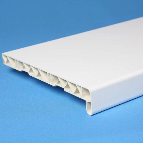 Подоконник РП пластиковый белый